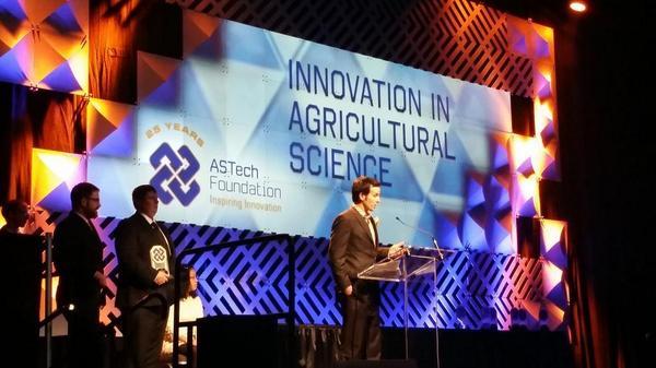 as tech award innovation agriculture