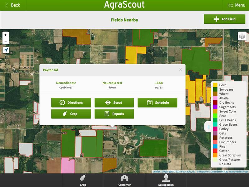 New Crop Scouting App